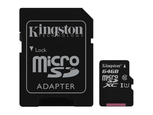 Karta pamięci 64gb micro SD...