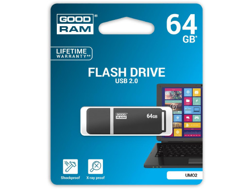 Pendrive 64gb UMO2 GoodRam