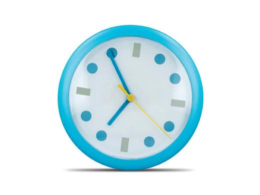 Zegar ścienny kropki