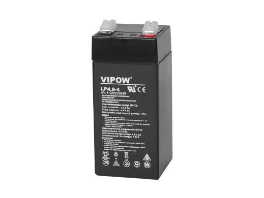 Akumulator żelowy VIPOW 4V...