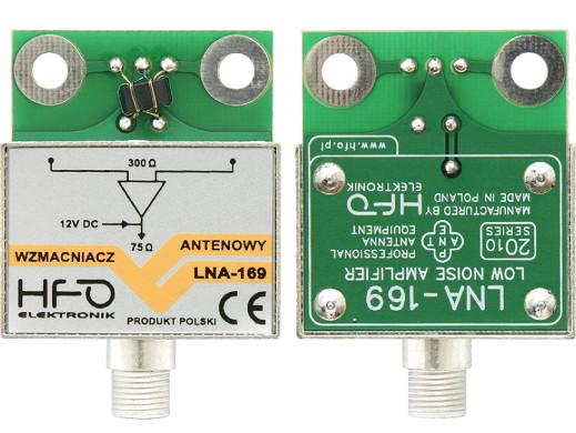 Wzmacniacz antenowy LNA169 25dB