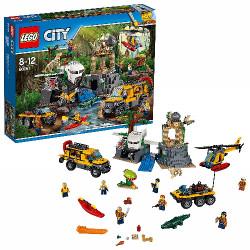 Zestaw LEGO Dżungla Baza w...