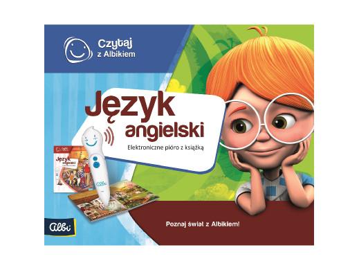Zestaw Czytaj z Albikiem Język ang. PL