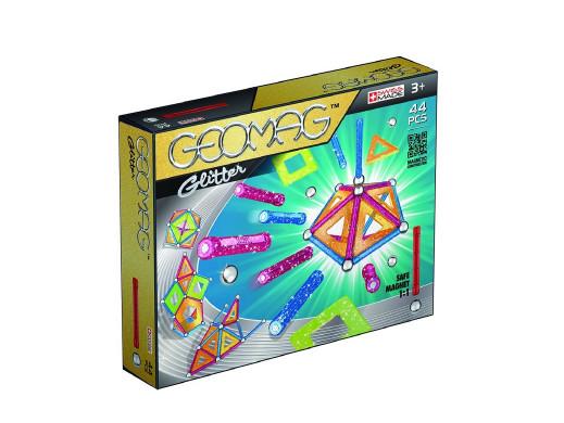 Klocki magnetyczne Geomag Panels Glitter 44el. GEO-532