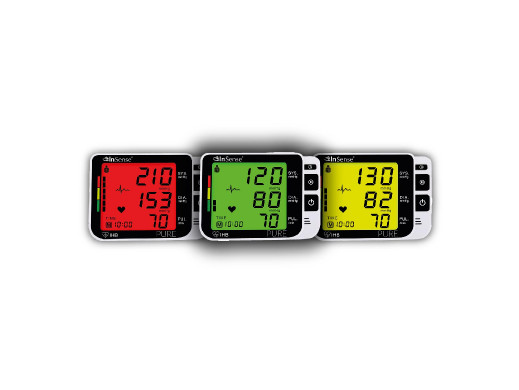 Ciśnieniomierz 3 kolory LCD...