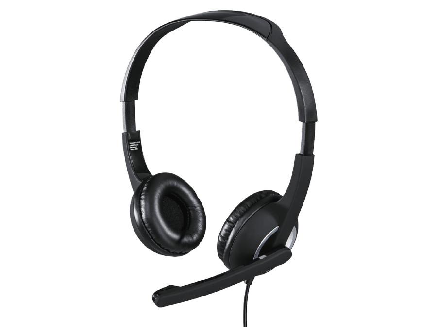 Zestaw słuchawkowy Hama Essential HS 300