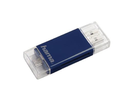 Hama CZYTNIK KART SD/microSD 2W1 USB/microUSB