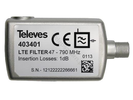 Filtr LTE 403401 47-790 Televes