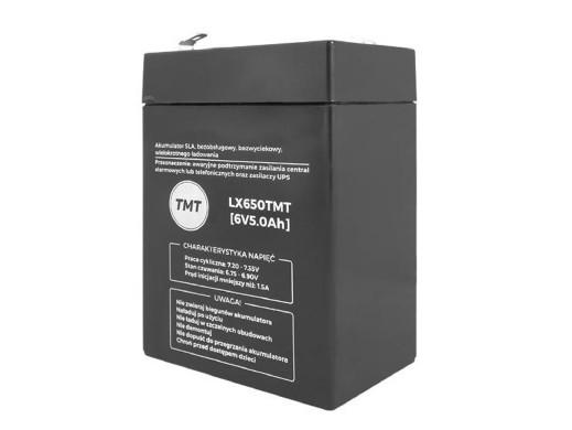 Akumulator żelowy LX650 6V 5Ah
