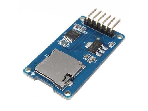 Moduł czytnika kart microSD...