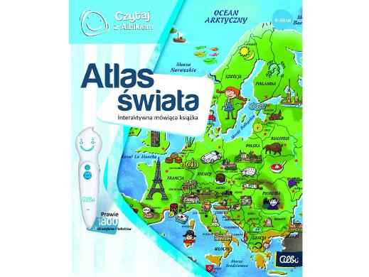 Książka Czytaj z Albikiem Atlas świata PL