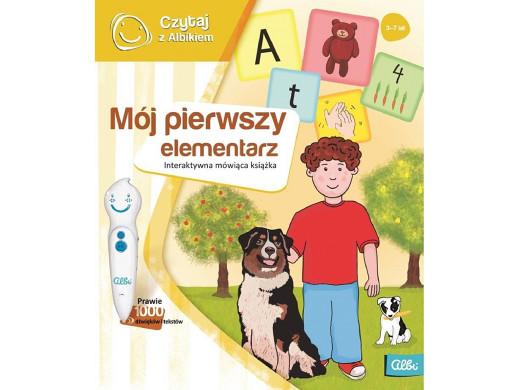 Książka Czytaj z Albikiem Mój pierwszy elementarz PL