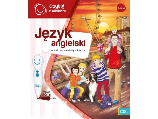 Książka Czytaj z Albikiem Język angielski PL