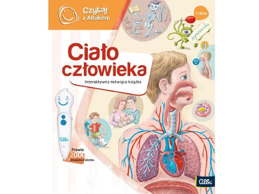 Książka Czytaj z Albikiem Ludzkie ciało PL