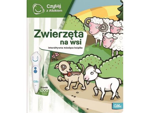Książka Czytaj z Albikiem Zwierzęta na wsi PL