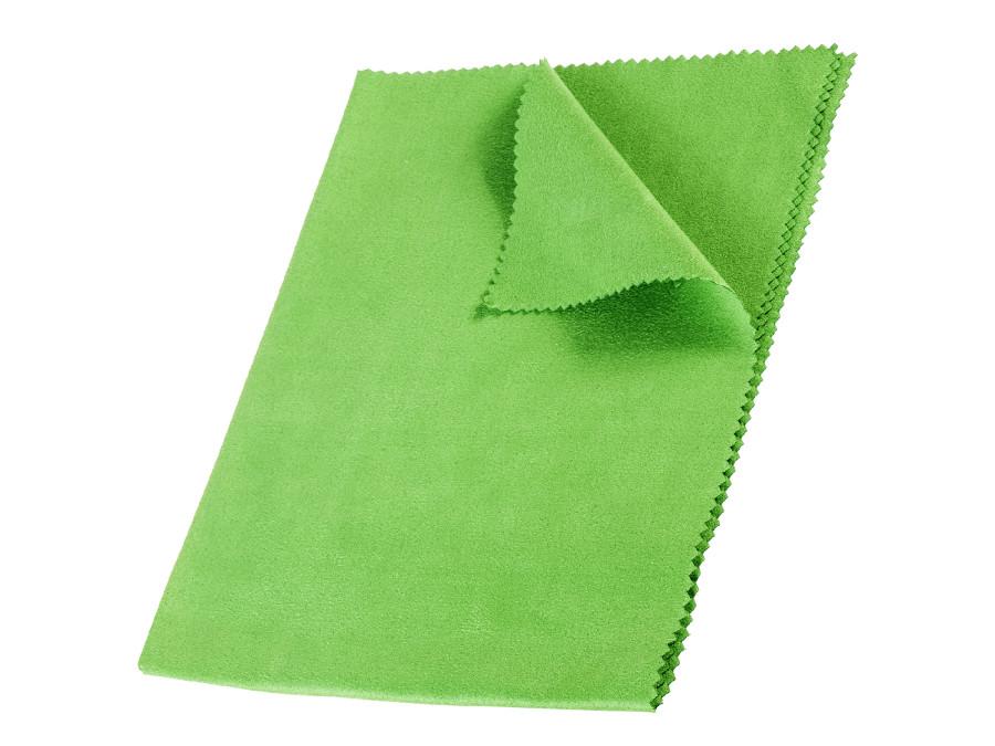 Ściereczka, ścierka z mikrofibry 40x30cm  zielona GreenBlue GB840 Shine Glass bezsmugowa