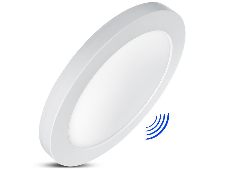 Panel plafon LED 7in1 podtynkowy natynkowy ultra slim 18W 3 kolory (WW, NW, CW) Led4U LD140 mikrofala wbudowany zasilacz