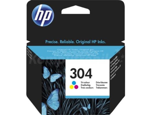 Tusz HP HP304 no304 N9K05AE kolor oryginał