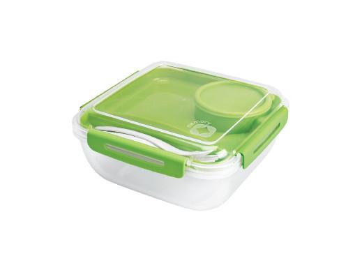 Pojemnik na żywność lunchbox Rotho Memory B3 1,7L zielony