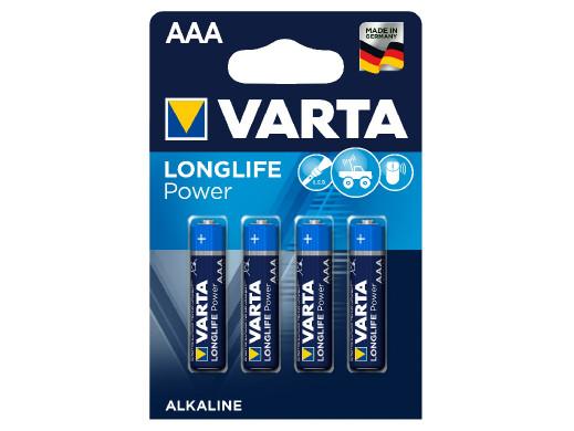 4x baterie alkaliczne Varta...