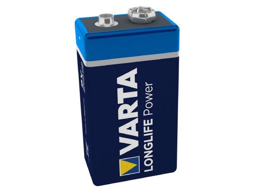 Bateria 6LR61 R-9 9V alkaliczna Varta Longlife Power