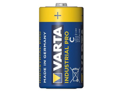 20x baterie R-14 LR14 C alkaliczne Varta Industrial