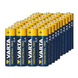 40x baterie alkaliczne Varta Industrial LR6/AA (folia4)