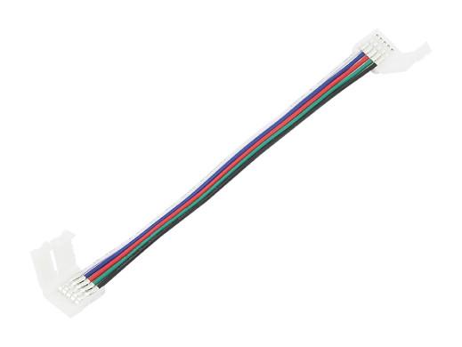 Złącze LED 10mm RGBW 5pin łącznik na przewodzie