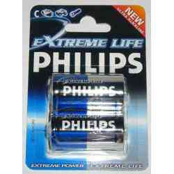 Bateria R-20 Philips Exteme Life LR20 AM1 mono 2D