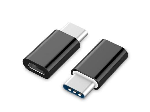 Adapter wtyk USB C - gniazdo mini USB A-USB2-CMmF-01 Gembird