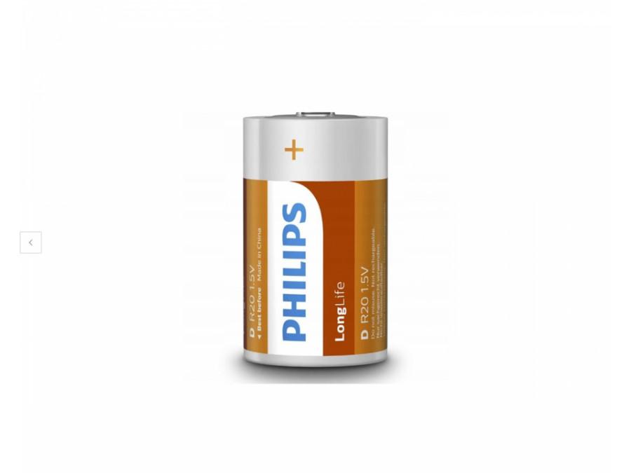 Bateria R-20 Philips Longlife