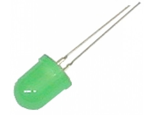 Dioda LED 10mm zielona...