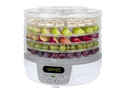 Suszarka z LCD do grzybów, warzyw i owoców