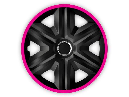 """Kołpak 15"""" FAST LUX pink 4szt"""