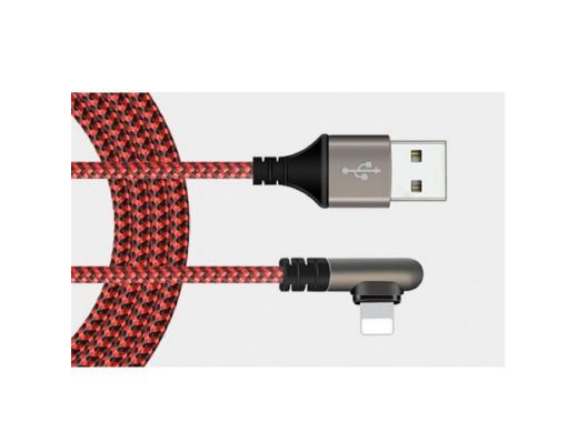 Przewód wtyk 8P Iphone wtyk Usb 0,8m DSKU601 wtyk kątowy Talvico