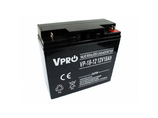 Akumulator AGM VPRO 12V 18Ah
