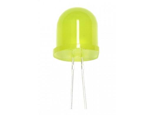 Dioda LED 12mm żółta