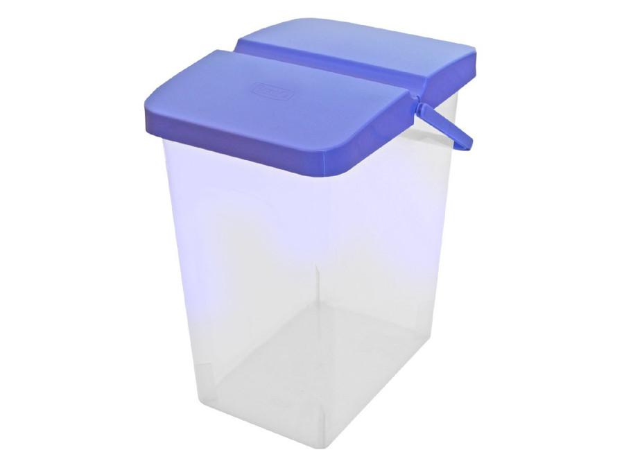 Pojemnik na proszek lub karmę 25l BranQ niebieski