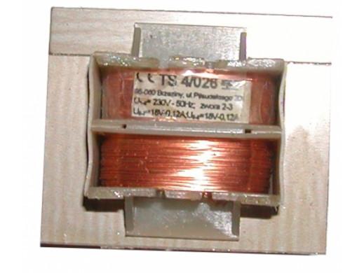 TRANSFORMATOR 2*18V/0,12A TS 4/026