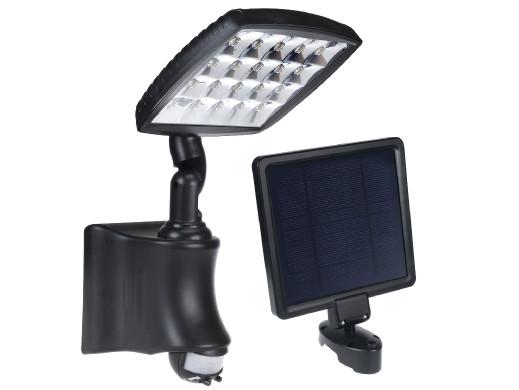 Solarna lampa ścienna z...