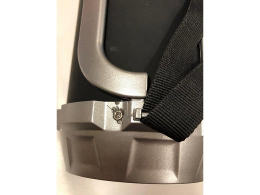 Głośnik bazooka, bluetooth, FM, karta microSD Audiocore AC890 czarny moc 100W 2000mAh POSERWISOWY Towar sprawny, delikatne ślady