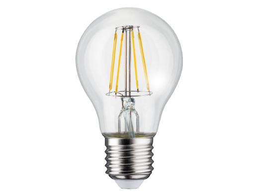 Żarówka filamentowa LED E27, 4W  230V  Maclean Energy MCE266 WW ciepła biała 3000K 400lm retro edison ozdobna A60