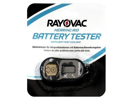 Tester baterii słuchowych...