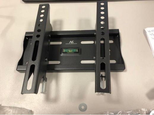 """Uchwyt do telewizora 13-42"""" Maclean MC-667N czarny do 25kg max vesa 200x200 POSERWISOWY Produkt sprawny, widoczne ślady montaż"""