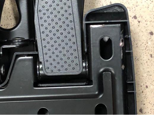 """Uchwyt do telewizora 26-70"""" Maclean MC-781 czarny do 45kg max vesa 400x400 POSERWISOWY Produkt sprawny, kompletny, zarysowania n"""