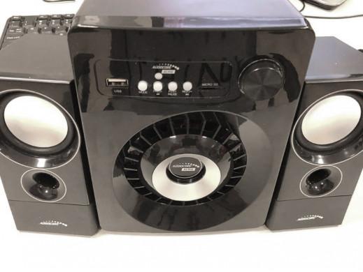 Zestaw głośników Bluetooth 2.1 Audiocore AC910 radio FM, wejście kart TF, AUX, zasilanie USB POSERWISOWY Produkt sprawny, de