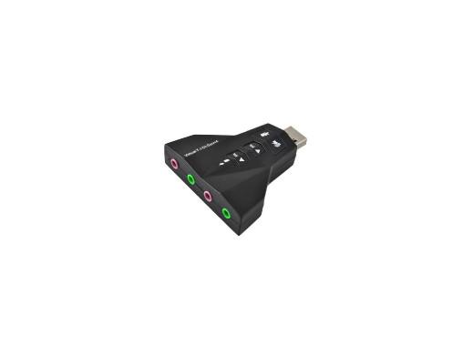 Karta dźwiękowa 7.1 USB...