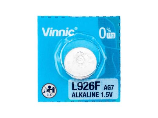 Bateria AG-7 SR926 SR57 399 543 RW413 Vinnic