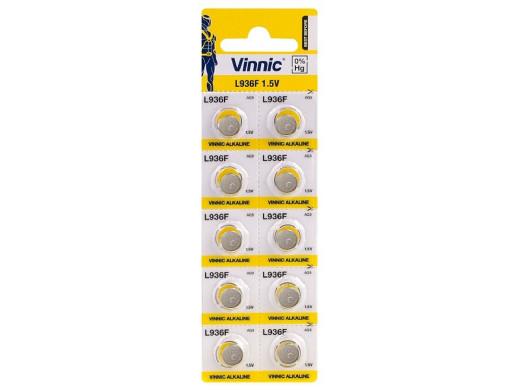 Baterie alkaliczne mini Vinnic G9 (10szt)