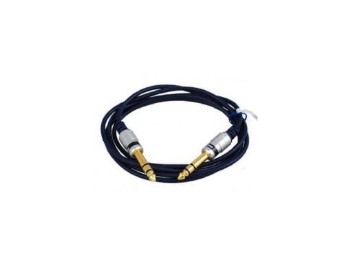 Przewód jack 6,3mm wtyk-wtyk 5m MK61 stereo Vitalco